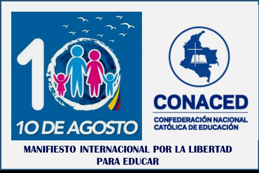 CONACED invita al Manifiesto internacional por la libertad para educar